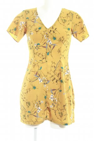 Missguided Blouse Dress floral pattern casual look