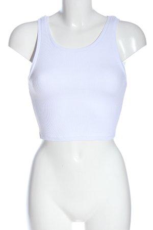 Missguided Podkoszulek na ramiączkach biały W stylu casual