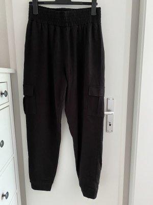 Missguided Pantalón de camuflaje negro