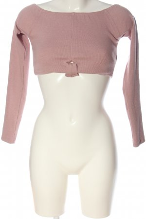 Missguided Carmen Blouse pink casual look