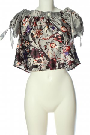 Missguided Carmen Blouse allover print casual look