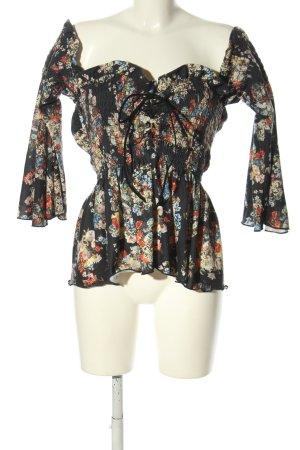 Missguided Carmen shirt volledige print casual uitstraling