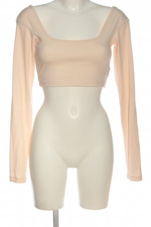 Missguided Cropped top nude casual uitstraling