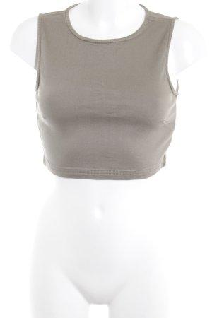 Missguided Cropped Top grüngrau Casual-Look