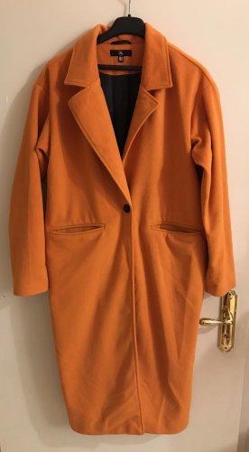 Missguided Blazer lungo arancione-arancione scuro Lana