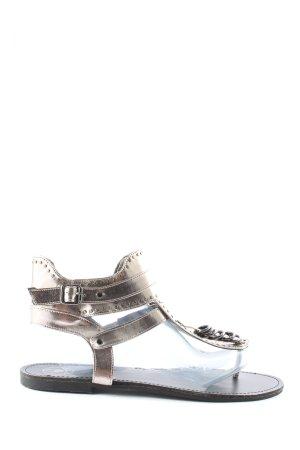 Missguided Dianette-Sandalen silberfarben Elegant