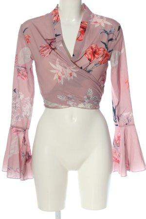 Missguided Empire topje roze bloemenprint elegant