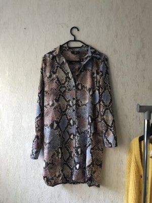 Missguided Lange blouse leigrijs
