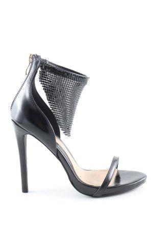Missguided High Heel Sandaletten schwarz Elegant