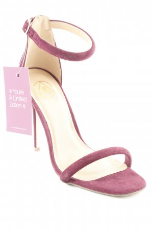 Missguided High Heels purpur-nude Elegant
