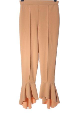 Missguided Hoge taille broek bruin casual uitstraling