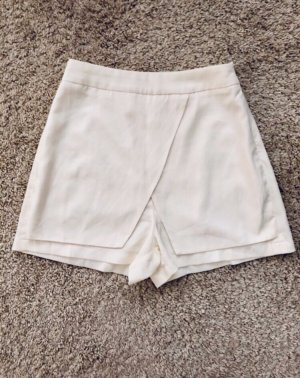 Missguided High-Waist-Shorts natural white-white