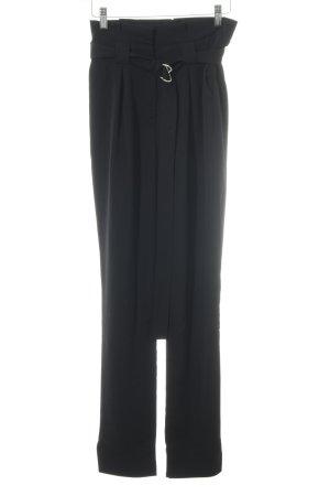 Missguided High-Waist Hose schwarz schlichter Stil