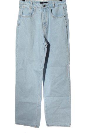 Missguided Jeans a vita alta blu stile casual