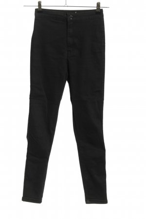 Missguided High Waist Jeans schwarz Casual-Look