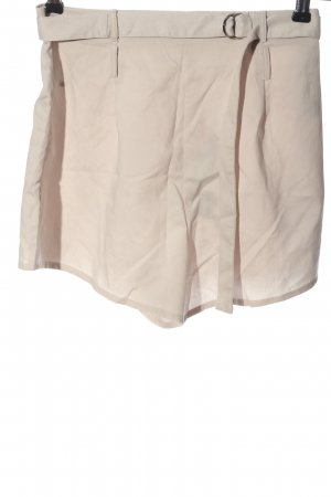 Missguided High-Waist-Shorts creme Casual-Look