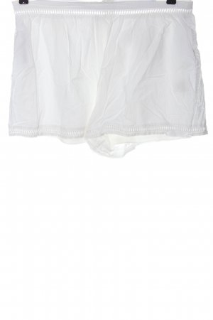 Missguided Hot pants bianco stile casual