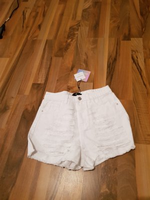 missguided jeans shorts weiss used look 36