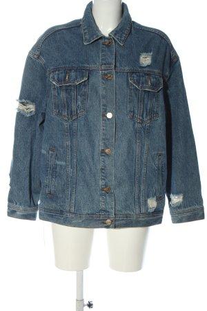 Missguided Denim Jacket blue casual look