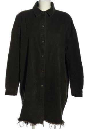 Missguided Jeansjurk zwart casual uitstraling