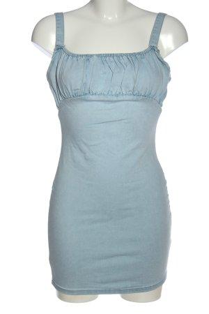 Missguided Jeanskleid blau Casual-Look