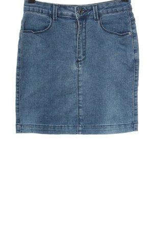 Missguided Denim Skirt blue casual look