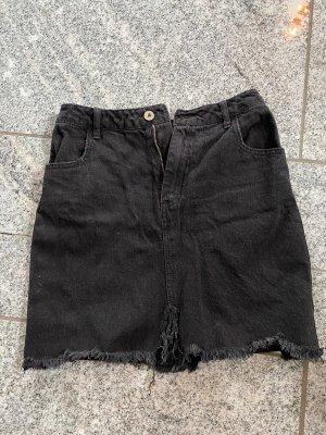 Missguided Denim Skirt multicolored