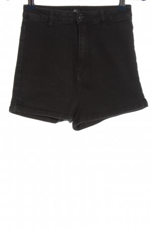 Missguided Jeansshorts schwarz Casual-Look