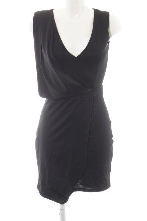 Missguided Jerseykleid schwarz Casual-Look