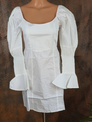 missguided kleid weiß 34