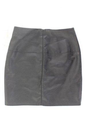 MISSGUIDED Kunstlederrock Größe 34/36 schwarz aus Polyester