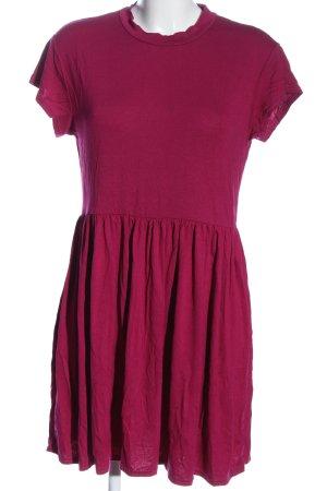 Missguided Kurzarmkleid pink Casual-Look