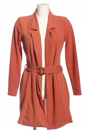 Missguided Long-Blazer rot Casual-Look