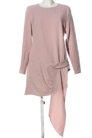 Missguided Langarmkleid pink Casual-Look