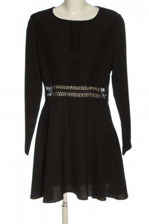 Missguided Langarmkleid schwarz Elegant