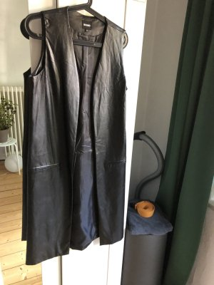 Missguided Smanicato in pelle nero Poliuretano