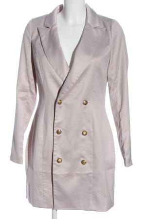 Missguided Blazer lungo rosa stile professionale