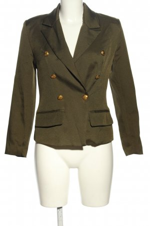 Missguided Long-Blazer khaki Business-Look