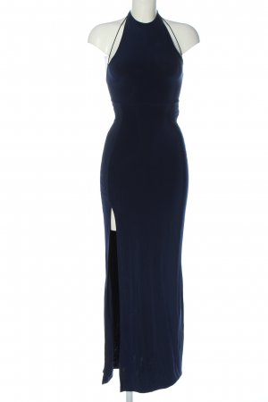 Missguided Maxi Dress blue casual look