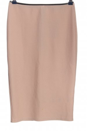 Missguided Gonna midi color carne stile casual