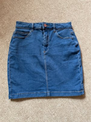 Missguided Mini rok staalblauw-korenblauw
