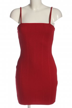 Missguided Minikleid rot Casual-Look