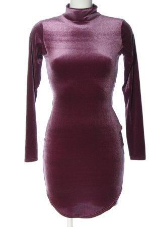Missguided Mini Dress pink wet-look