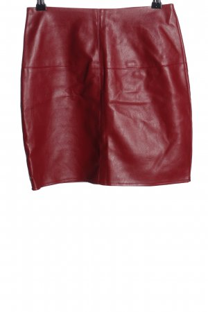 Missguided Mini rok rood casual uitstraling