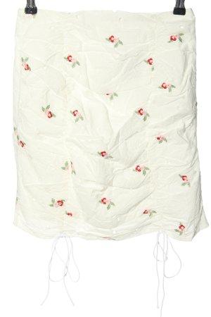 Missguided Mini rok wit bloemenprint elegant
