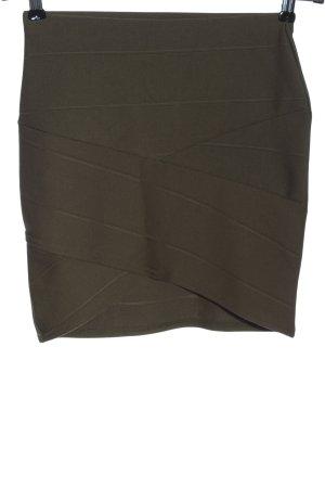 Missguided Mini rok khaki casual uitstraling