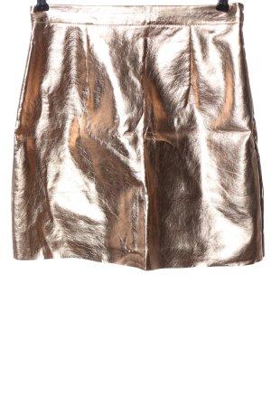 Missguided Mini rok brons extravagante stijl