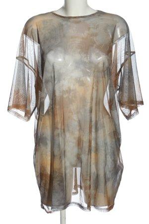 Missguided Mesh Shirt color gradient elegant