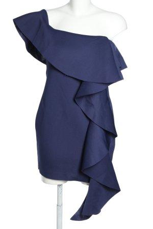 Missguided Vestido de un hombro lila elegante