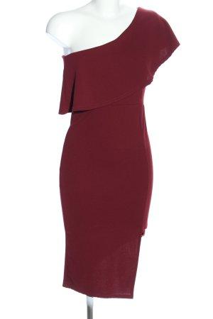 Missguided One Shoulder Dress red elegant
